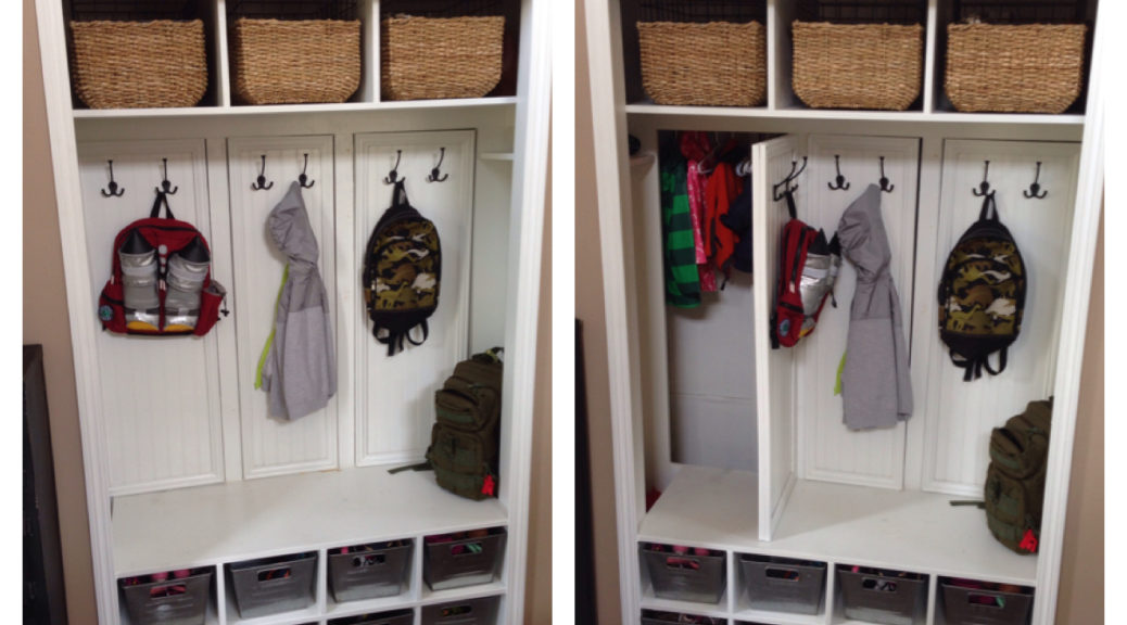 Transform Your Coat Closet Into A Mud Room Sunshine Dad
