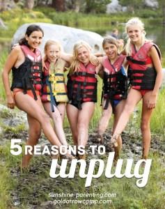 5 reasons to unplug