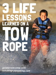 3 Life Lessons Learned on a Tow Rope
