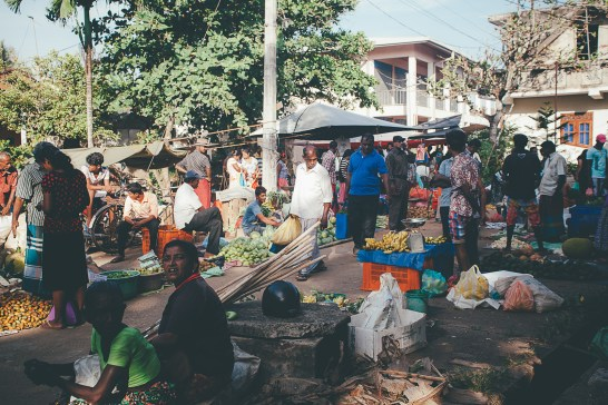 Weligama food market