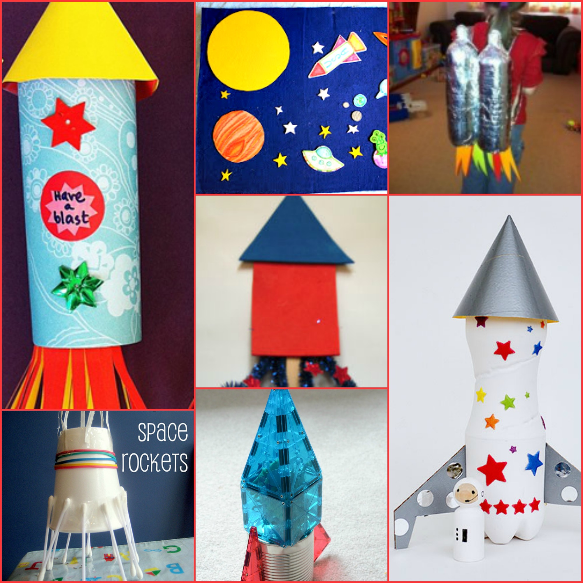 Space Crafts For Kids Rocket Ship Crafts For Kids