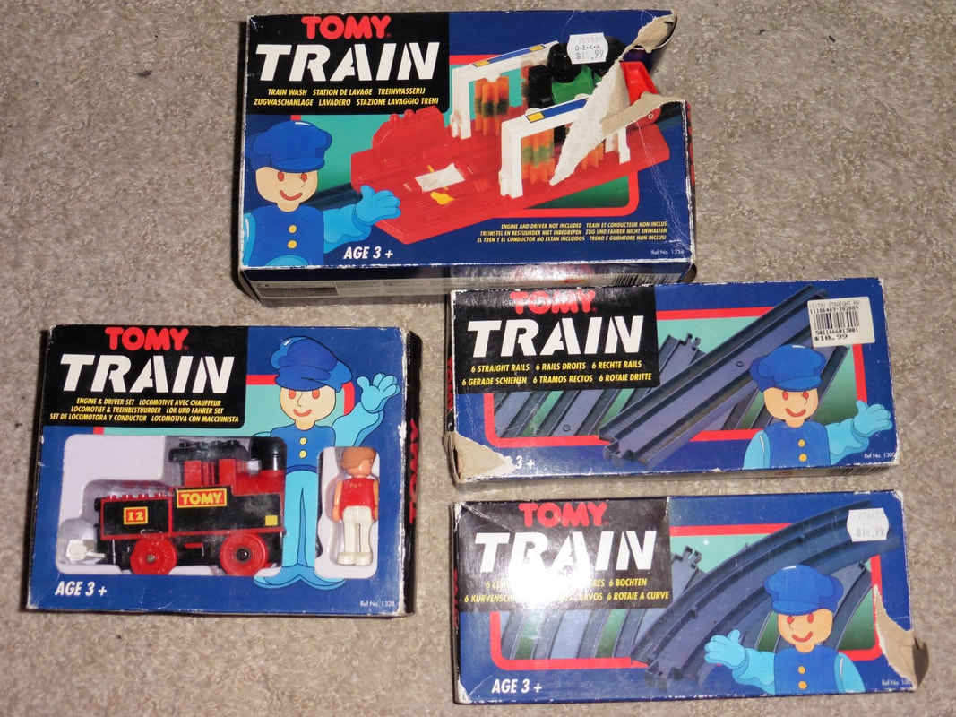 Vintage Bad Copy Vintage Tomy Boxed Arrival Suns Thomas And Friends