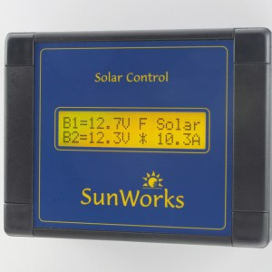 Solar Panel Dual Battery Charge Controllers