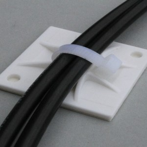 Solar cable attachment