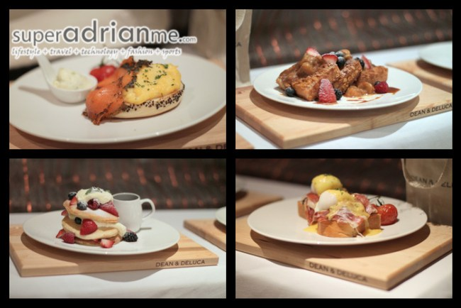 All Day Breakfast at Dean & Deluca Singapore