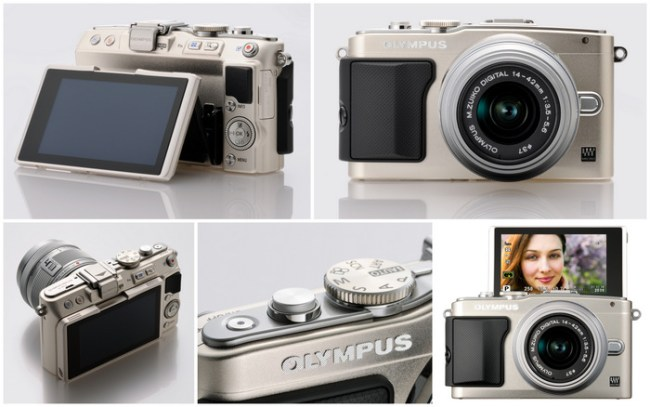 OLYMPUS PEN Lite EPL5 Micro Four Thirds Camera