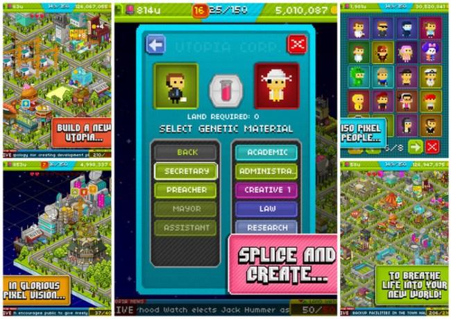 Pixel People iOS Game