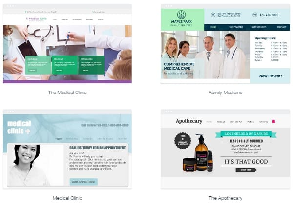 The Best Website Builders to Create a Medical Website