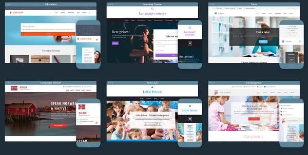 The Best Website Builders to Create a School or a Teacher Website - how to create a website template