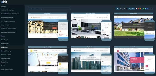 The Best Website Builders to Create a Real Estate Agent Website - property management websites templates