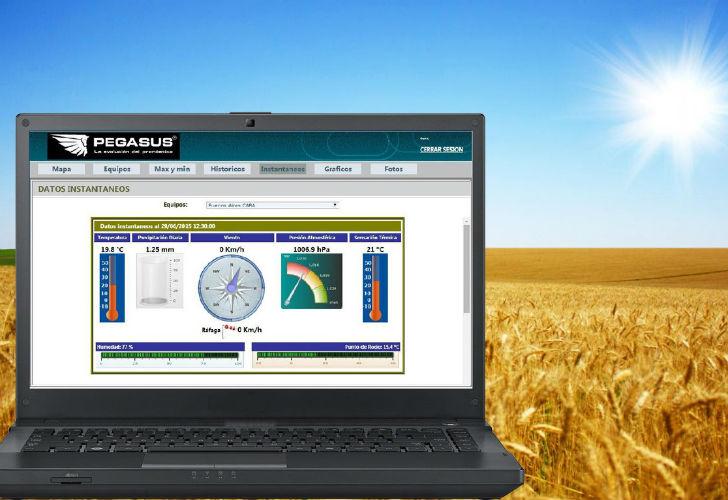 estación meteorologica
