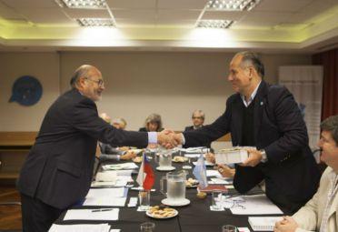 Argentina y Chile, por el control fitozoosanitario conjunto. FOTO: Senasa.
