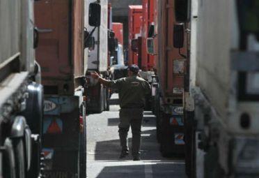 camiones paro