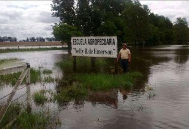 Inundación en General Villegas.