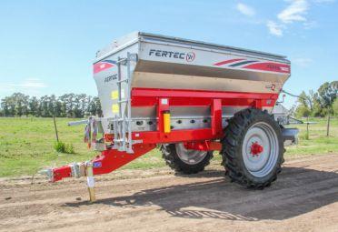 Esta es la fertilizadora de Fertec en oferta.