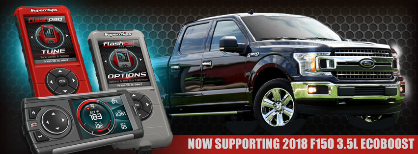 2018 Ford F150 35L Ecoboost Now Supported by Superchips