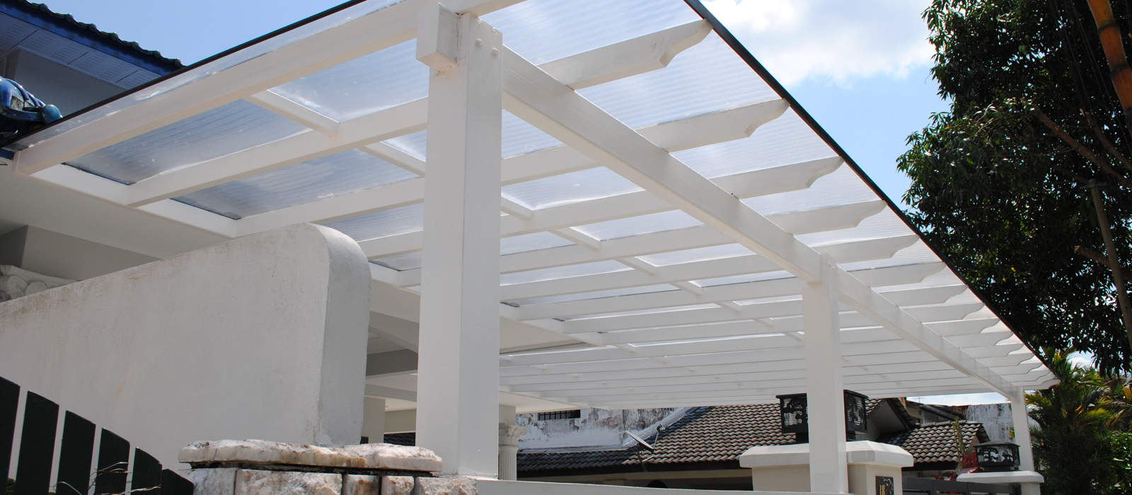 Model Awning Rumah Roofing Tiles Malaysia Polycarbonate Awning Glass Skylight