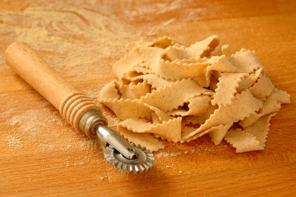 Как сделать пасту для спагетти в домашних условиях с
