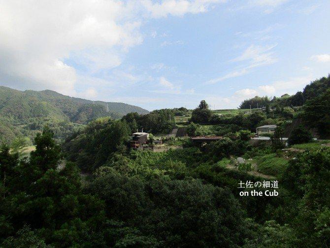 昔ながらの山村