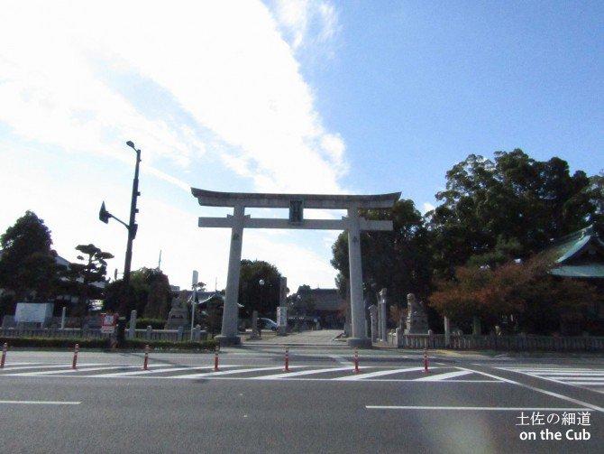 別宮大山祇神社の大鳥居