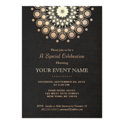 corporate party invitation - Ozilalmanoof - Corporate Party Invitation Template