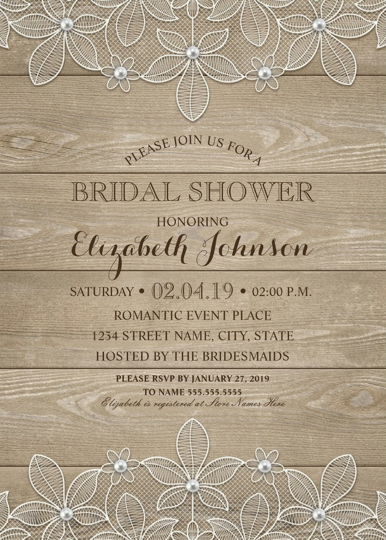 Large Of Bridal Shower Invitations