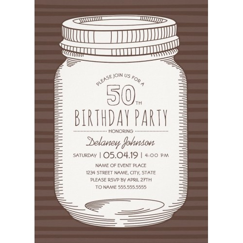 Medium Crop Of 50th Birthday Invitations