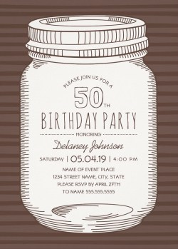 Small Of 50th Birthday Invitations