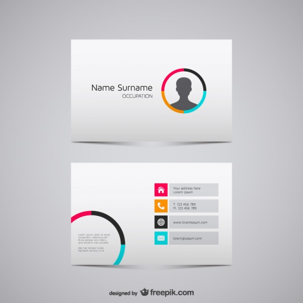 20 Free Business Card Design Templates from Freepik - Super Dev