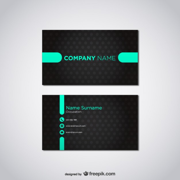 20 Free Business Card Design Templates from Freepik - Super Dev