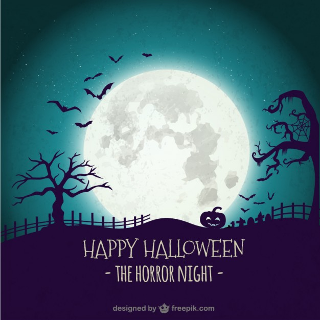 20 Free Halloween Backgrounds and Poster Templates - Super Dev Resources - editable poster templates
