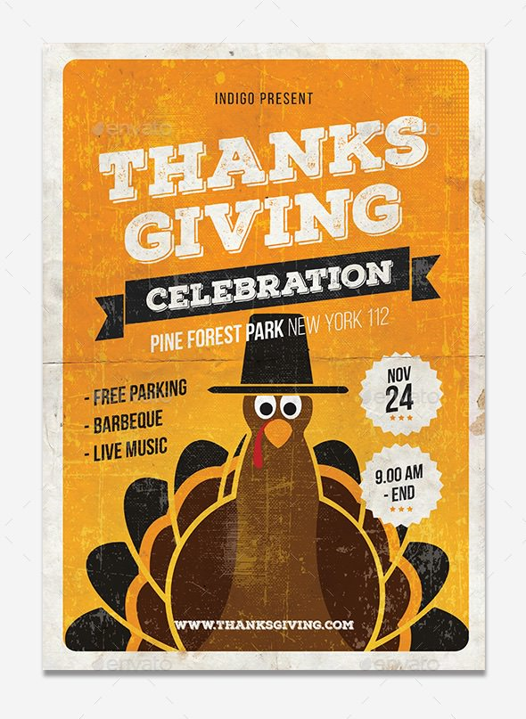 30+ Thanksgiving Vector Graphics and Greeting Templates - Super Dev
