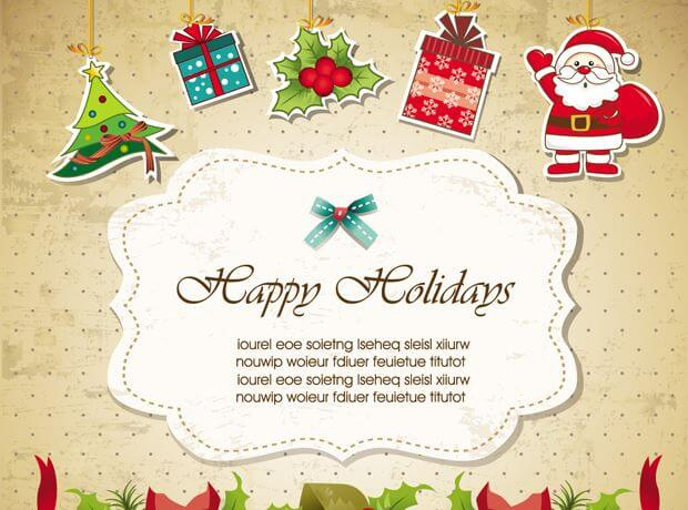 30+ Free Christmas Vector Graphics \ Party Flyer Templates - Super - flyer invitation templates free
