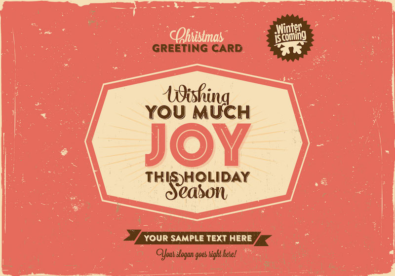 30+ Free Christmas Greetings Templates  Backgrounds - Super Dev
