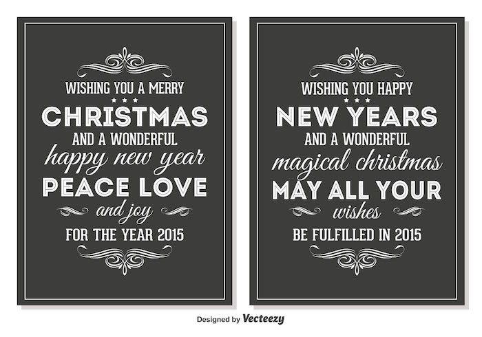 30+ Free Christmas Greetings Templates  Backgrounds - Super Dev - christmas cards black and white