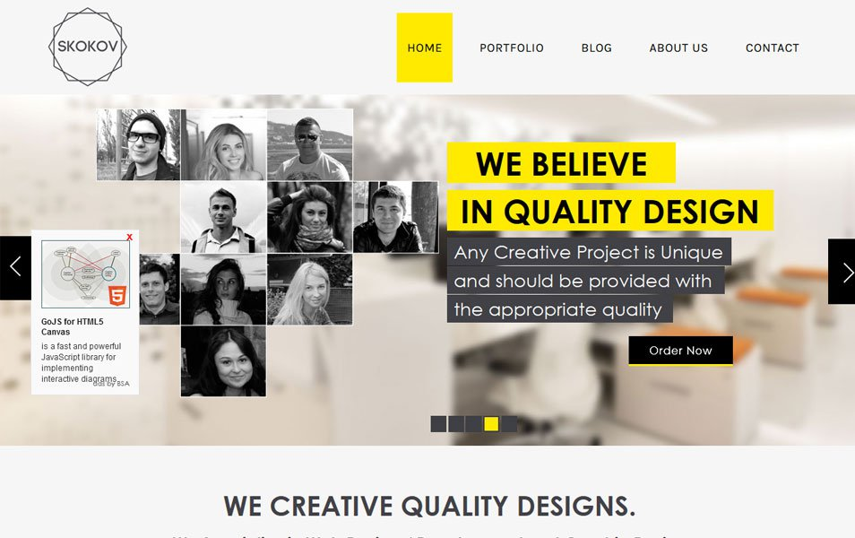 Free Responsive HTML  CSS templates for mobile friendly websites - free profile templates