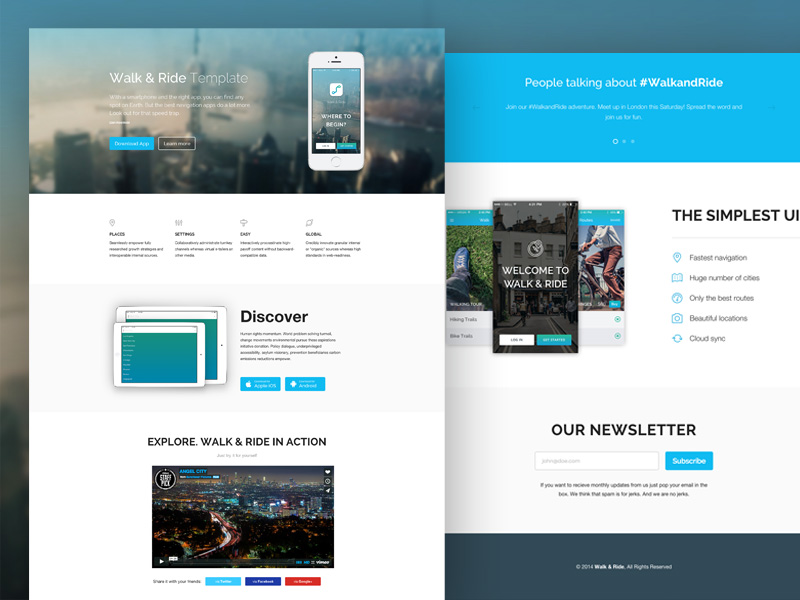 30+ One Page Website Templates built with HTML5  CSS3 - Super Dev