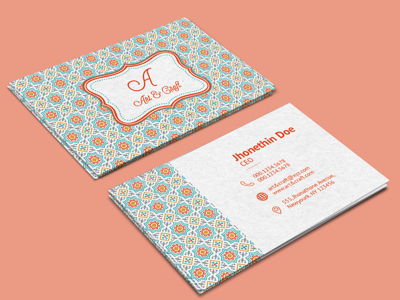 20 Professional Business Card Design Templates for Free Download - buisness card design