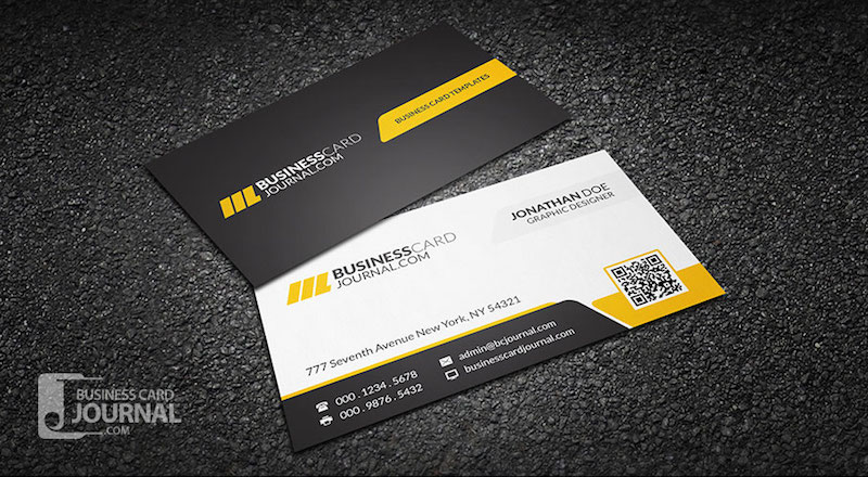 20 Professional Business Card Design Templates for Free Download - card design template