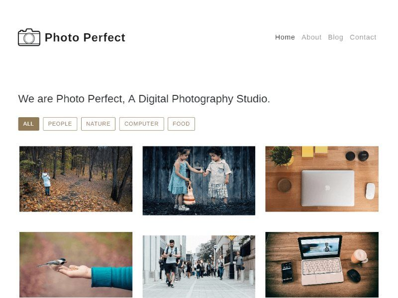 30 Best Photography Website HTML Templates with Stunning Photo