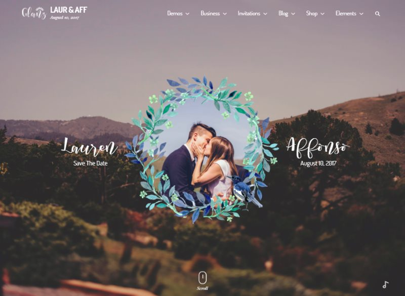 15 Beautiful Wedding Website HTML Templates (Free  Premium) - Super