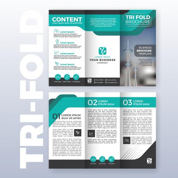 25 Tri-fold Brochure Templates - PSD, AI  INDD (Free  Premium