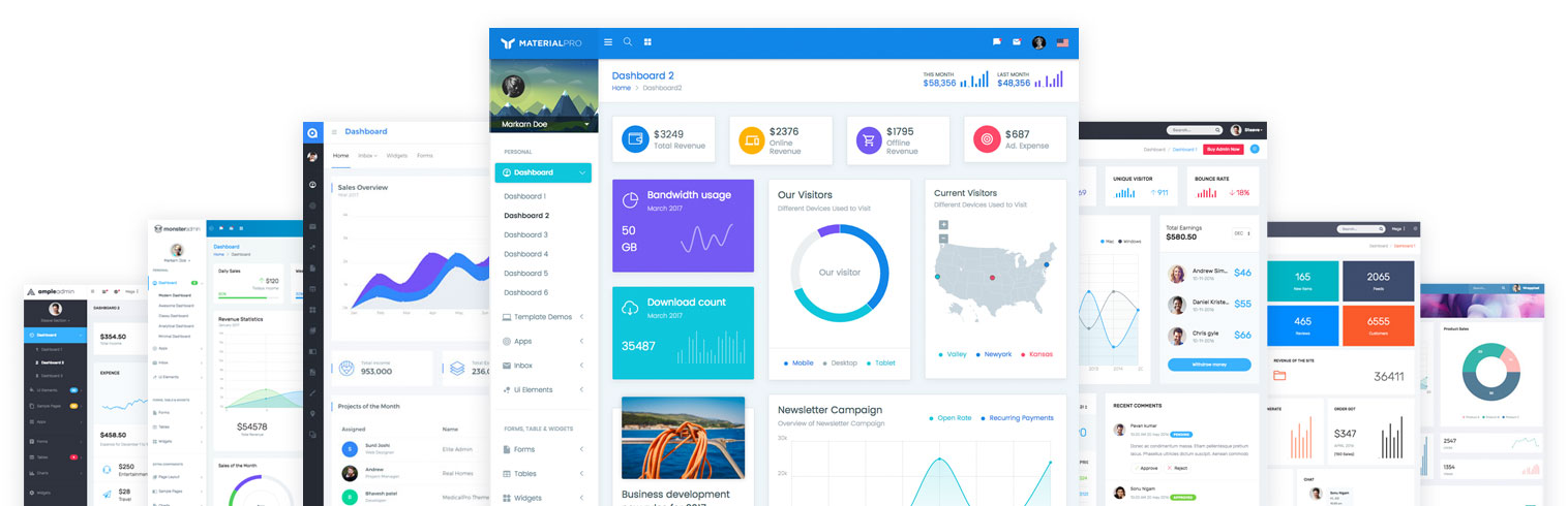 Build Awesome Projects with Readily Available Bootstrap Admin