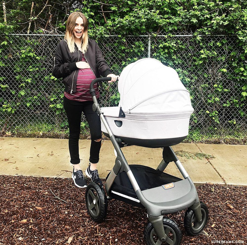 Baby Stroller Bag Teen Mom Acacia Brinley Might Give Birth Any Day Now