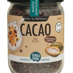 RAW Cacao Nibs (in glas)