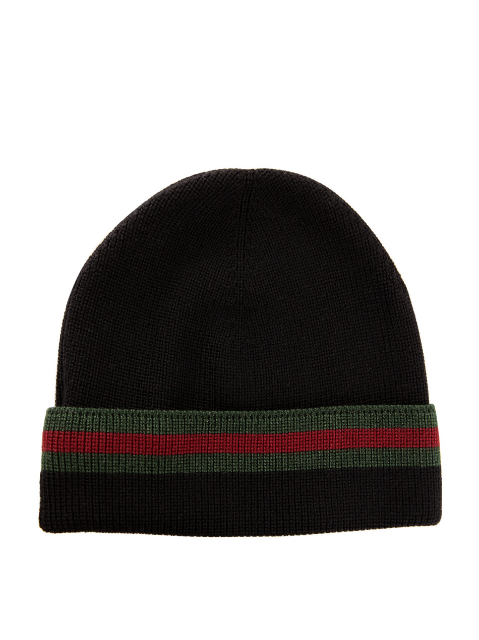 "Baby Newborn Gucci ""wool And Silk Beanie Hat"" Spring 2011 