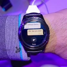 Лента сообщений на Samsung Gear S2