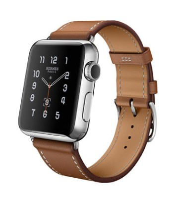Single Tour 38mm Stainless Steel Case Fauve Barenia Leather Band
