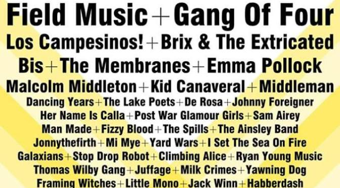 GALAXIANS ANNOUNCED FOR LONG DIVISION FESTIVAL // JUNE 2016