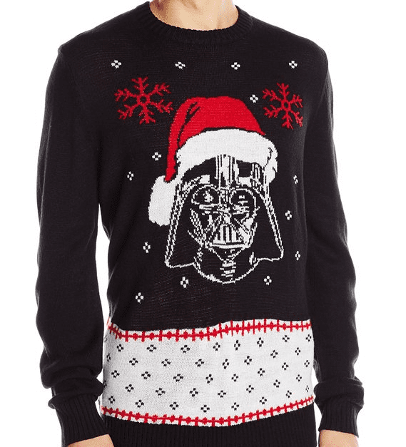 Star Wars Mens Vader Claus Sweater